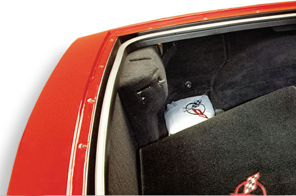 Vette cover in trunk